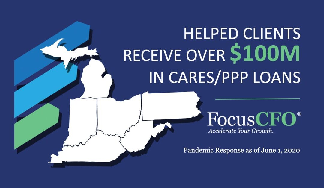 FocusCFO Supports Over $100M PPP Loans and Pro Bono Services Provided to Over 70 Companies & Individuals