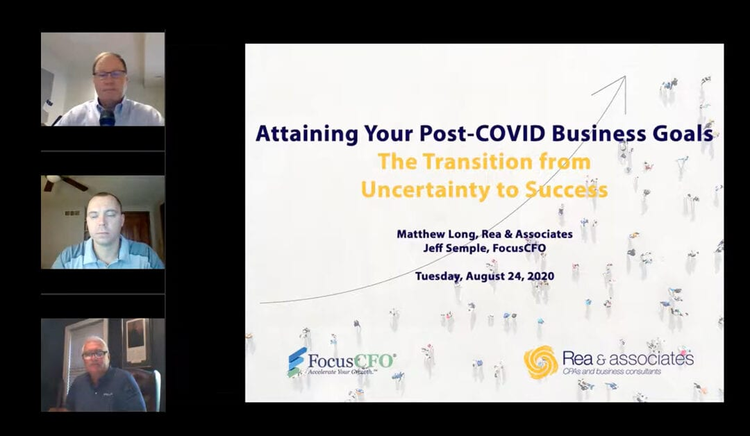 Attaining Your Post Covid-19 Business Goals Webinar