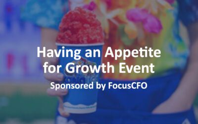 Having an Appetite for Growth Event